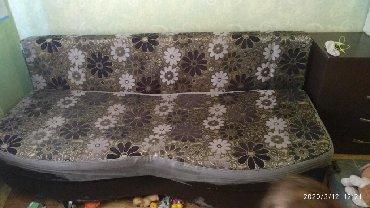 раскладной кастет в Кыргызстан: Продаю раскладной диван.Внутри есть ящики для вещей