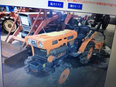 Мини трактор из Японии в Бишкек
