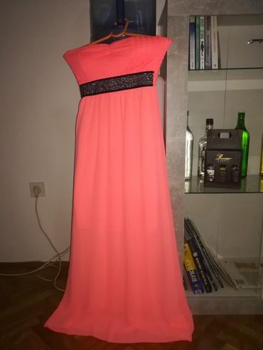Extra letnja duga haljina,samo probana,vel s/m
