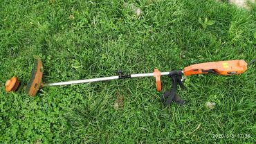 Всё для дома и сада - Кыргызстан: Косилка для травы, газона. Электрическая. Чоп чапкыч. Арча-Бешик