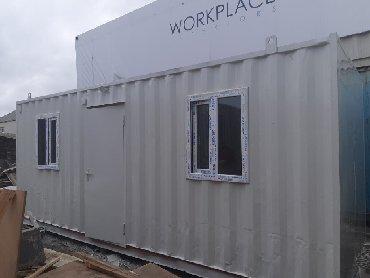 40 futluq dniz konteyneri - Azərbaycan: 12m və 6m lik konteyner ofislər satılır. konteynerler tam şəkildə