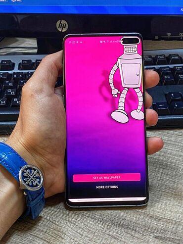 Samsung - Azərbaycan: İşlənmiş Samsung Galaxy S10 Plus 128 GB yaşıl