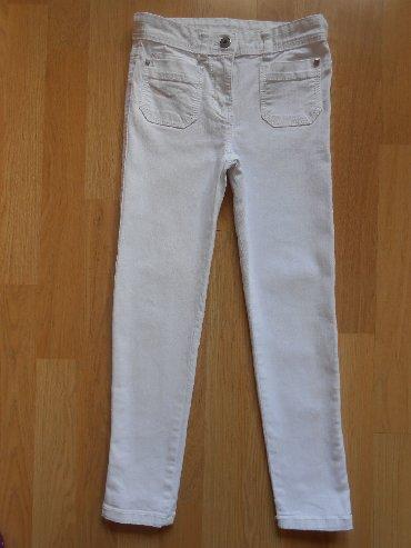 Dečije Farmerke i Pantalone | Becej: Okaidi pantalone vel 7 god (120cm)Besprekorno očuvane, obučene par