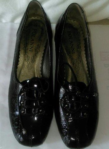 shlepki tanketka в Кыргызстан: Лаковые туфли polanni из натуральной кожи со шнуровкой  размер 39