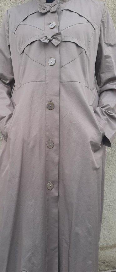 туника бежевая в Кыргызстан: Новая платья, плащ, турецкая фирма Pardesu dunyasi 50 размера, на рост