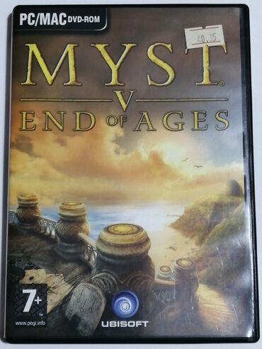Πωλείται το παιχνίδι Myst V - End of Ages (PC game) στα 6€.Παραλαβή