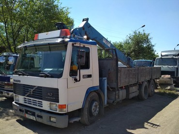Эвакуатор кран манипулятор - Кыргызстан: Кран манипулятор услуги перевозка грузов . кран до 6тонн. борт до 12