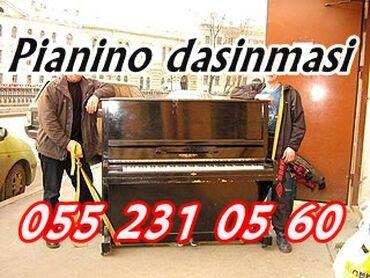 Pianino və röyalların daşınması