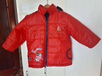 Decija topla jaknica vel 4 - Kraljevo