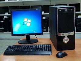 Двух ядерный компьютер ддр2 экран 17 жосткий диск120 в Каракол