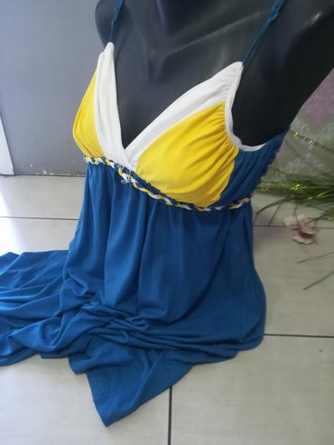 Haljina extra model Odlican kvalitet Pamuk elastin
