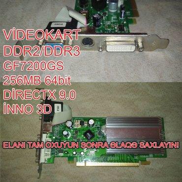 Videokart NVİDİA GF7200GS в Баку