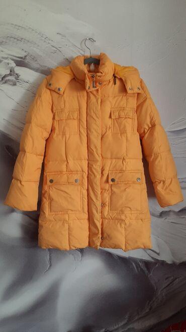 Nike jakna - Srbija: Ex10 relepa i topla zimska perjana jakna S/XSŽute je boje. Nošena