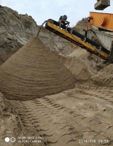 бетон плита цена бишкек в Кыргызстан: Песок чистый Песок под штукатуркуПесок под кладку Песок мытыи Песок