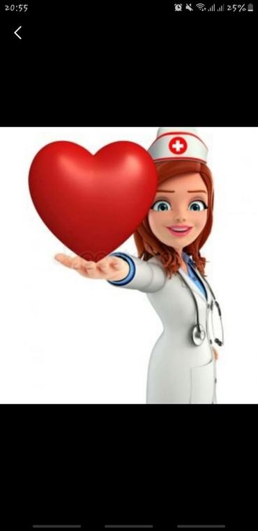 Медицина, фармацевтика в Кыргызстан: Ищу работу мед.сестры или вакансию в приёмном отделе в частных