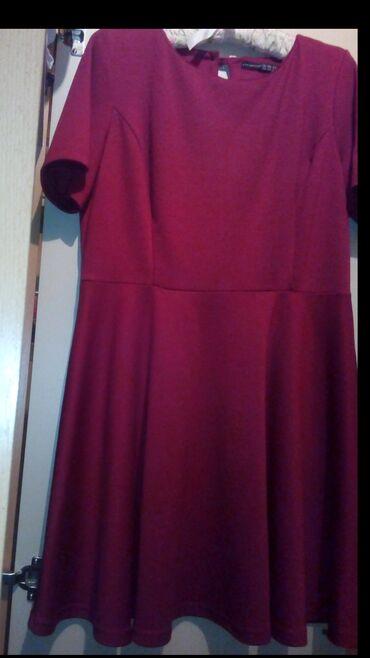 Dres italije 90 - Srbija: Haljina boje trule visnje,vel 44,duzine 90 cm