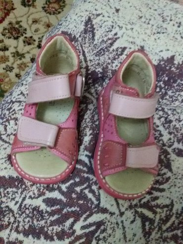 детская одежда из италии в Азербайджан: Ортопедические басаножки из кожи для девочки 18 размер