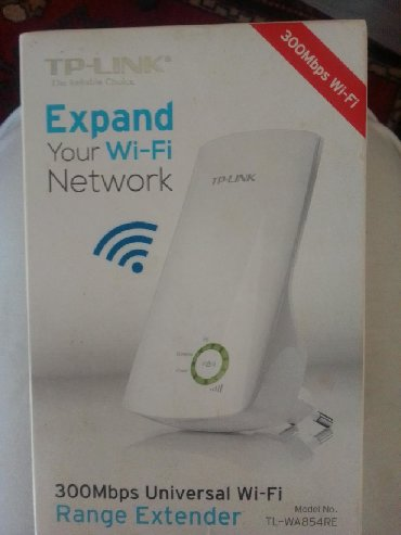 TP-link 300mbps WiFi range extender like new in box