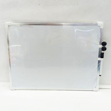 Магнитная доска для рисованияс маркером и магнитами.Размер 40 на 30