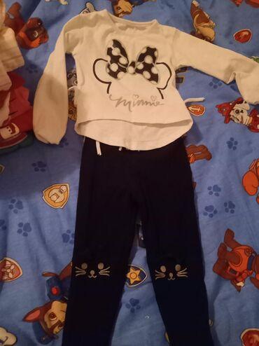 Ostala dečija odeća   Subotica: Ocuvano presladak kompletic 80 vel