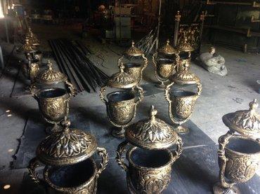 Sumqayıt şəhərində Aluminium tökme zibilqabı. çürümez paslanmaz zibilqabı istenilen rengd