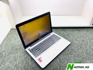 дискретная видеокарта для ноутбука купить в Кыргызстан: Ноутбук для офисных программ-Asus-модель-X555Y-процессор-AMD