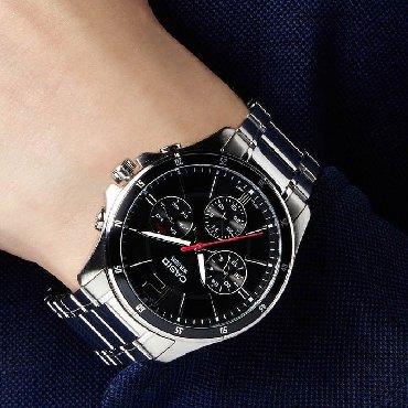 часы дешок в Кыргызстан: Черные Мужские Наручные часы Casio