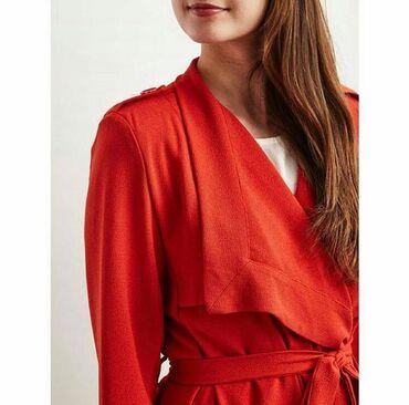 Ženska odeća | Batocina: Narandzasto crveni mantil