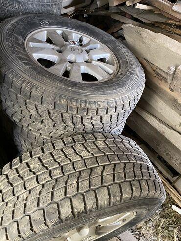 шины зимние бу r16 в Кыргызстан: 275/65/17 зимняя резина с шинами Подходит на Toyota Land Cruiser