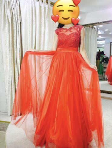 Очень красивое платье. Покупали в Cosmobella. Надевали 1 раз! Можно на