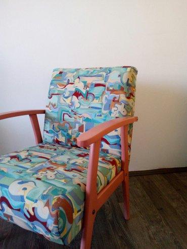 Fotelje unikatne,cena za jednu je 6000,00;a za obe 10500,00 - Zrenjanin