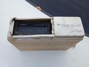 Магнитолы - Сокулук: Срочно продаю mp3 чейнджер от фирмы sony. В рабочем состоянии