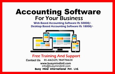 Accounting Software in a discounted offerMIS Analysis & Report- in Kathmandu