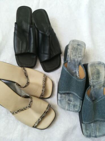Natikače | Srbija: Rasprodaja 3 para papuča vel 40 sve za 700 din u izuzetnom stanju
