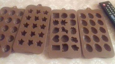 Eyri ayaqlar ucun silikon - Azərbaycan: Marmelad şokolad silikon qelibləri