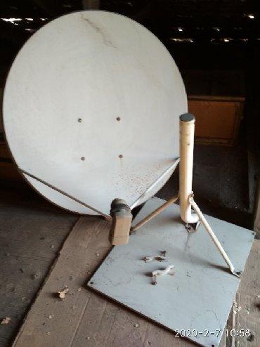 купить-спутниковую-тарелку в Кыргызстан: Продаю спутниковую тарелку без ресивера в хорошем состоянии,диаметр
