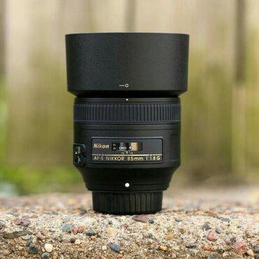 Объективы и фильтры - Кыргызстан: Продается объектив Производитель: Nikon Фокусное расстояние: 85мм