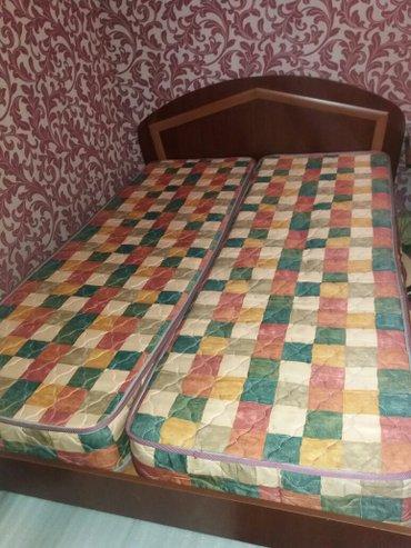 б/у кровать в хорошем состоянии.  в Бишкек