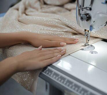 Требуются швеи: вечерние, универсальные платья. Оплата высокая, комфор