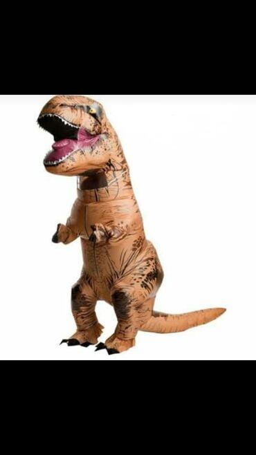 Крутой костюм динозавра