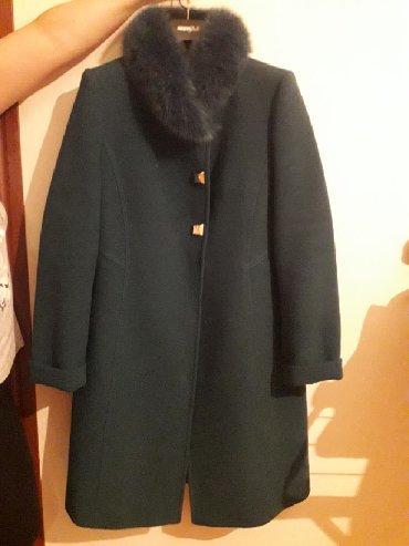 пальто loreta турция в Кыргызстан: Продаётся пальто, изумрудного цвета, Турция фирмы Loreta, размер 48. В