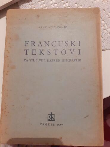 Francuski jezik - Srbija: Tekstovi na francuskom jeziku Polovna, ocuvana