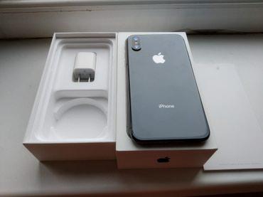 СРОЧНО!!! Продаю iphone x black в Бишкек