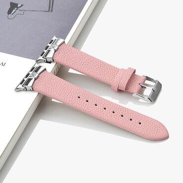244 объявлений   ЭЛЕКТРОНИКА: Кожаный ремешок для часов Apple Watch