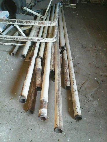 Ремонт и строительство - Сокулук: Трубы тонкостенные 76 б/у 100метров