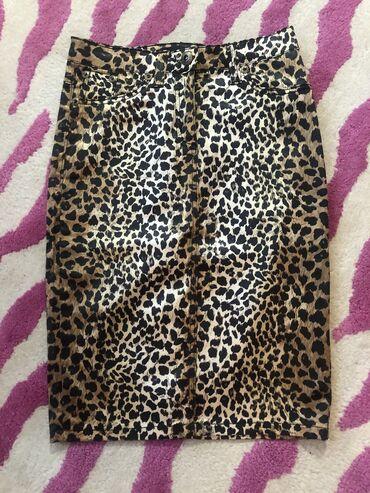Mantil zimski - Srbija: Roberto Cavalli suknja sa leopard printom. dubok struk. velicina