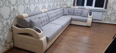 Диваны - Кыргызстан: Продаю угловой диван от производителя по городу доставка установки