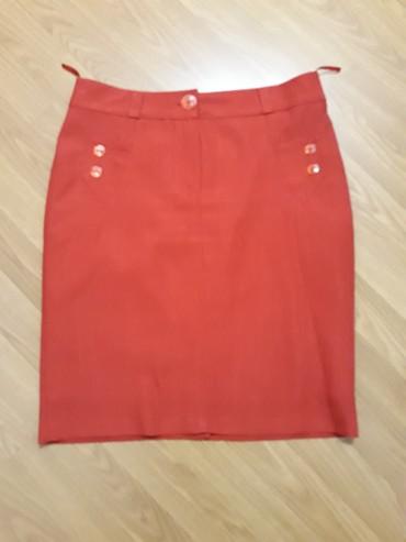 Suknja-hm-pamuk-elastin-cm-struk - Srbija: Suknja,par puta obucena,duz.53 cm,struk 40 cm