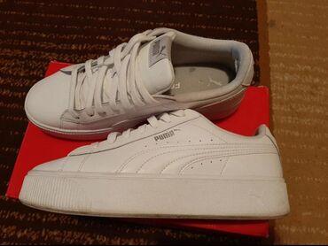 Ženska patike i atletske cipele   Sabac: Original PUMA patike,malo nosene i dobro ocuvane+soft ulozak