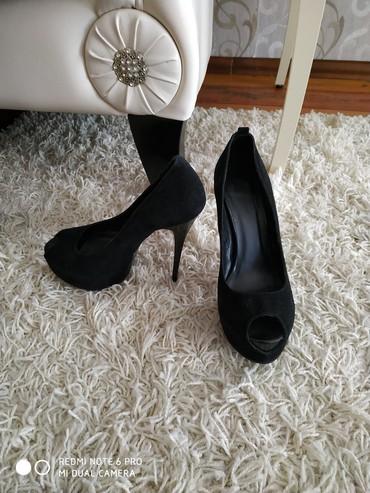 синие туфли на каблуках в Кыргызстан: Продается туфли на высоких каблуках носила 2 раза